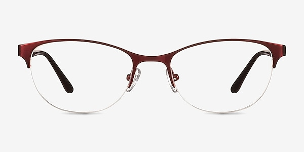 Melody  Red  Metal Eyeglass Frames