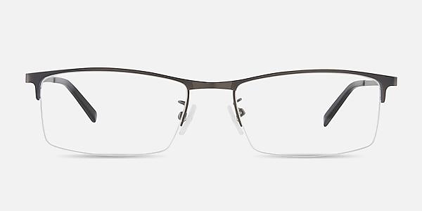 Vega Gunmetal Métal Montures de lunettes de vue