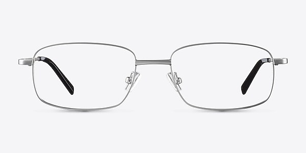 Bryce Silver Metal Eyeglass Frames