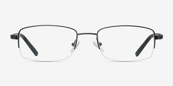 Hiro Gunmetal Metal Eyeglass Frames