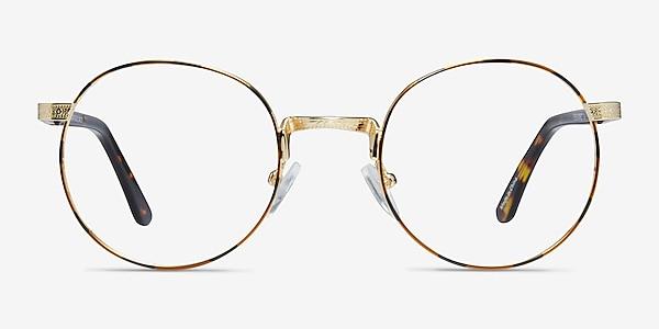 Basquiat Golden/Tortoise Métal Montures de lunettes de vue