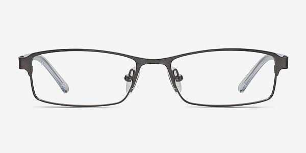 Olsen Gunmetal Metal Eyeglass Frames