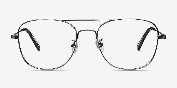 Courser Gunmetal Metal Eyeglass Frames