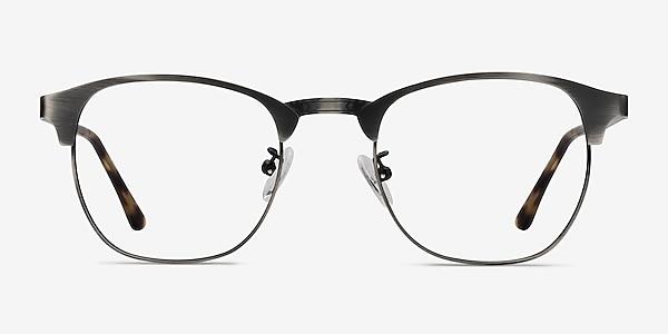Ferrous Gunmetal Métal Montures de lunettes de vue