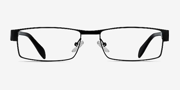 Katia Black Metal Eyeglass Frames