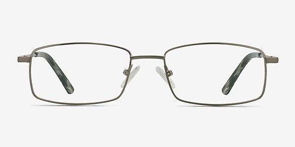 Tab Gunmetal Metal Eyeglass Frames