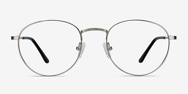 Epilogue Silver Metal Eyeglass Frames