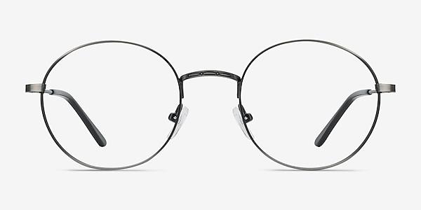 Motif Gunmetal Métal Montures de lunettes de vue