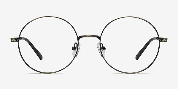 Inscription Bronze Métal Montures de lunettes de vue