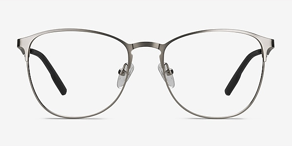 Ember Argenté Métal Montures de lunettes de vue