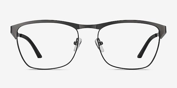 Foundry Gunmetal Metal Eyeglass Frames