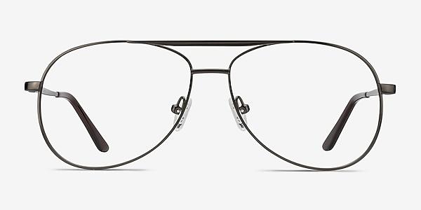 Discover Gunmetal Metal Eyeglass Frames