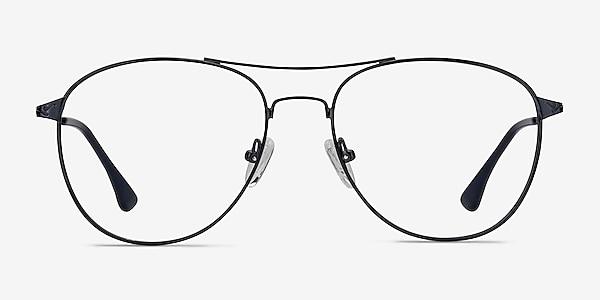 Westbound Dark Navy Metal Eyeglass Frames