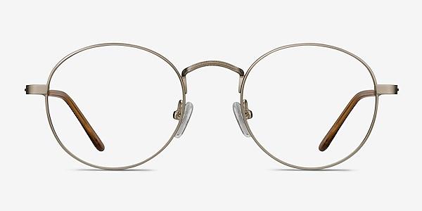 Cupertino Silver Metal Eyeglass Frames