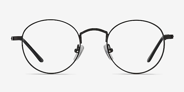 Cupertino Black Metal Eyeglass Frames