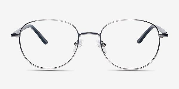 Pensieve Gunmetal Metal Eyeglass Frames