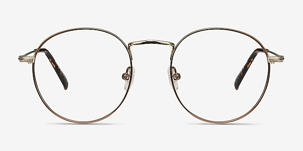 Wistful Coffee Metal Eyeglass Frames