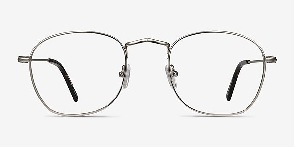 Sonder Silver Metal Eyeglass Frames