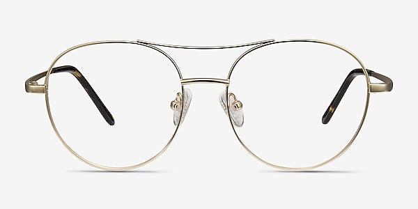 Cassini Golden Métal Montures de lunettes de vue