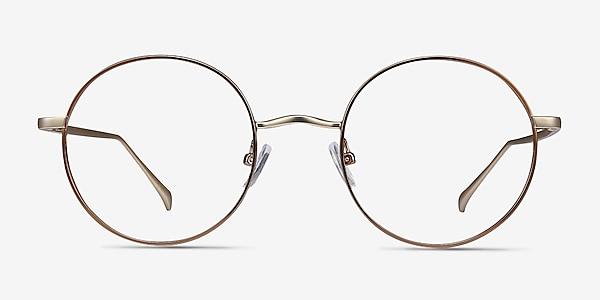 Synapse Marron Métal Montures de lunettes de vue