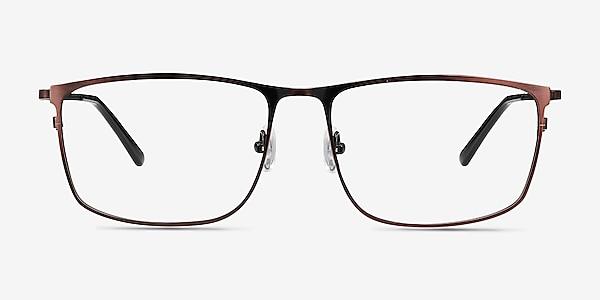 Typha Red Metal Eyeglass Frames