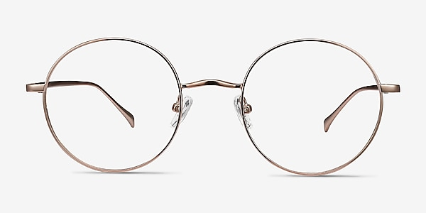 Synapse Rose Gold Metal Eyeglass Frames
