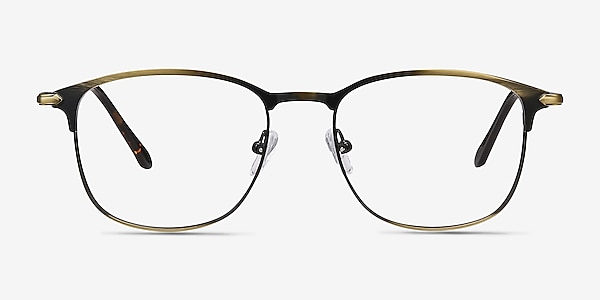 Cella Bronze Metal Eyeglass Frames