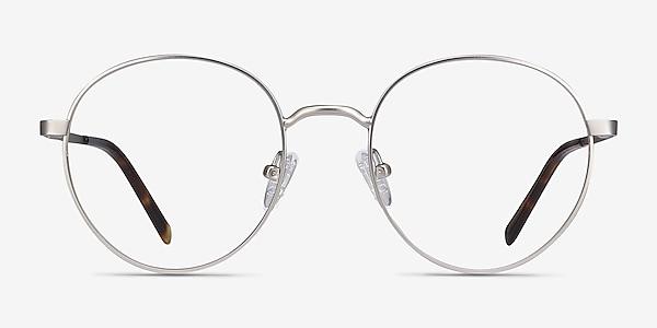 Nomad Silver Metal Eyeglass Frames