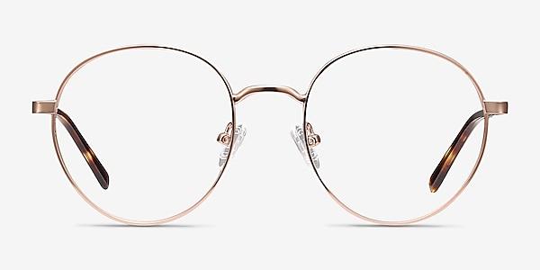 Nomad Rose Gold Metal Eyeglass Frames