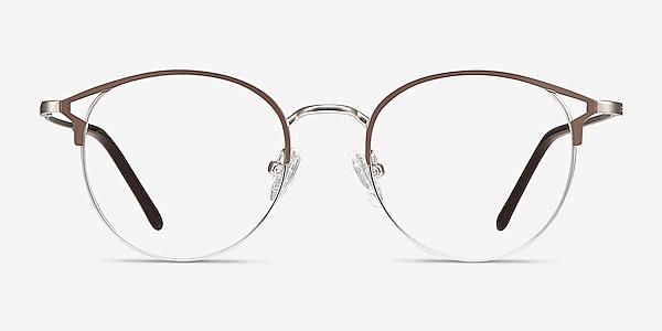 Jive Marron Métal Montures de lunettes de vue