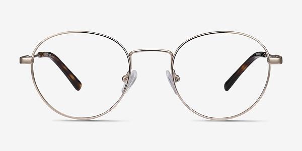 Memento Golden Metal Eyeglass Frames