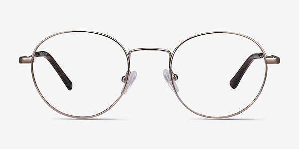 Memento Rose Gold Metal Eyeglass Frames