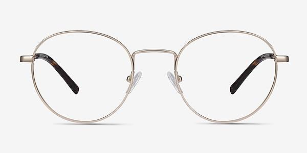 Memento Golden Métal Montures de lunettes de vue