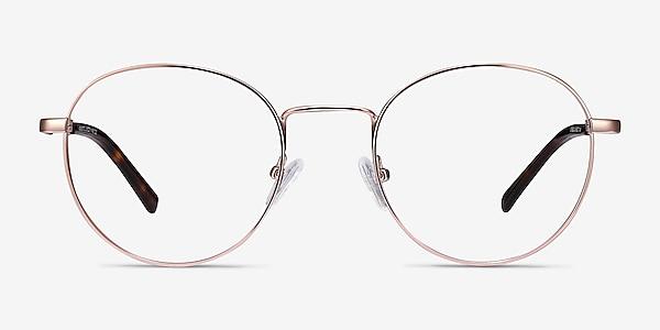 Memento Rose Gold Métal Montures de lunettes de vue