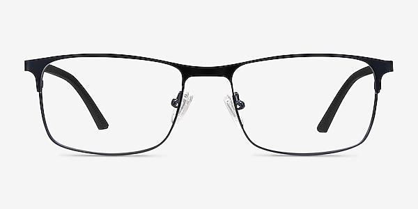 Wit Navy Metal Eyeglass Frames