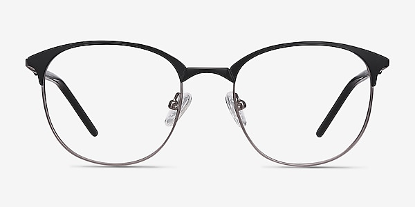 Perceive Black Gunmetal Métal Montures de lunettes de vue