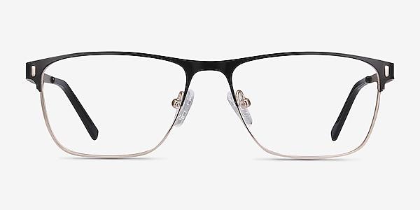 Media Noir Métal Montures de lunettes de vue