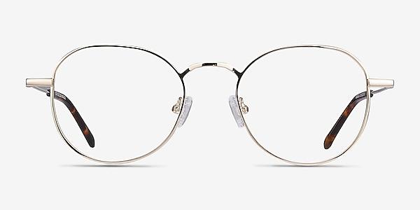 Cori Golden Métal Montures de lunettes de vue