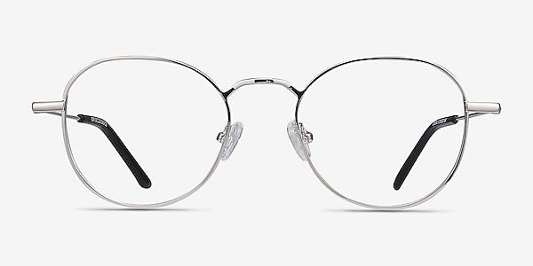 Cori Silver Metal Eyeglass Frames