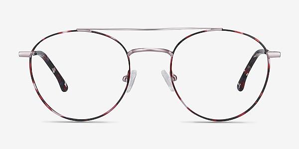 Earhart Red Tortoise Métal Montures de lunettes de vue