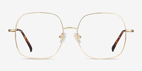 Movement Golden Metal Eyeglass Frames