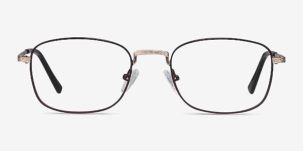 Tampa Red Metal Eyeglass Frames