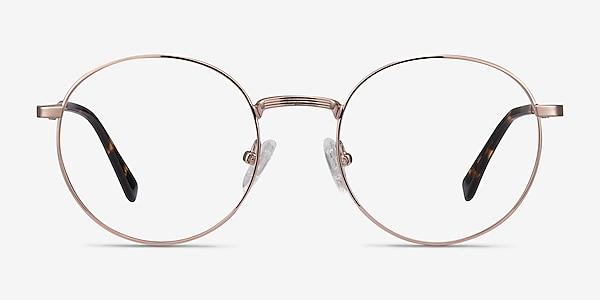 Bistro Rose Gold Métal Montures de lunettes de vue