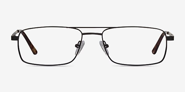 Maverick Black Metal Eyeglass Frames