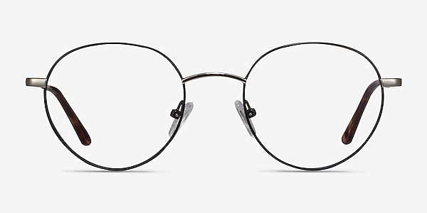 Retell Black Metal Eyeglass Frames