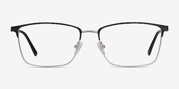 Castle Black Metal Eyeglass Frames