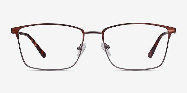 Castle Coffee Metal Eyeglass Frames