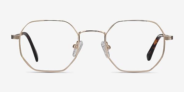 Soar Golden Métal Montures de lunettes de vue