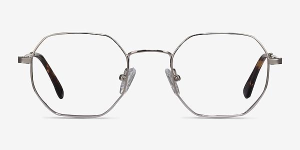 Soar Silver Metal Eyeglass Frames