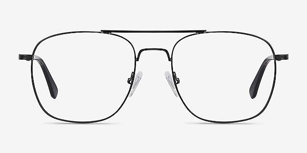 Fame Noir Métal Montures de lunettes de vue